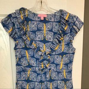 Lilly Pulitzer silk knit dress